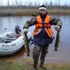 Рыбак доволен